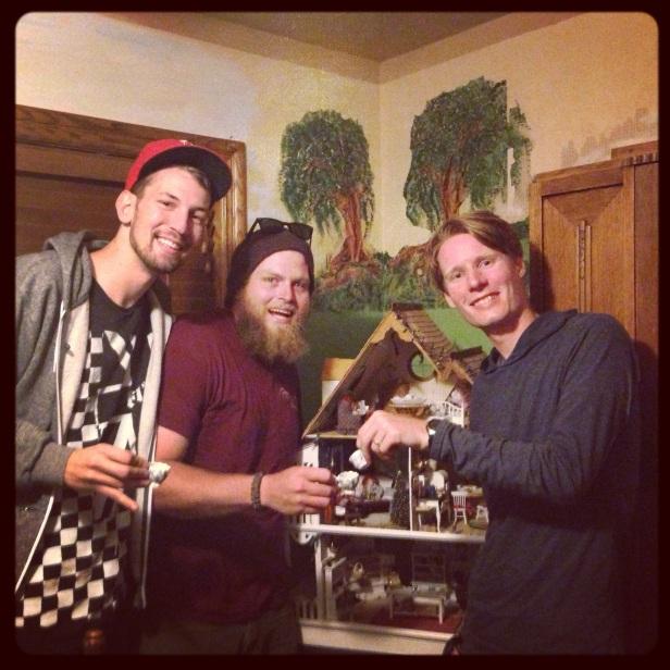 2013: Patrick, Randall, and I