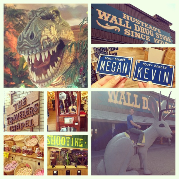 Wall Drug Store, Wall, South Dakota. So awesome.