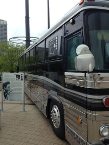 Johnny Cash's Tour Bus. I wet my pants (unrelated)