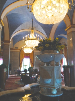Our hotel! The Renaissance Cleveland, beautiful place.