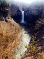 An incredible view. Found this gem on the way out of Ithaca.