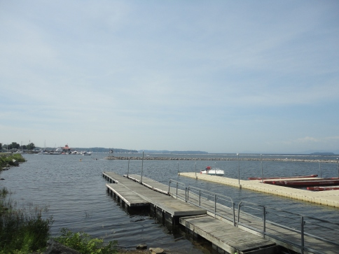 Lake Champlain, downtown Burlington