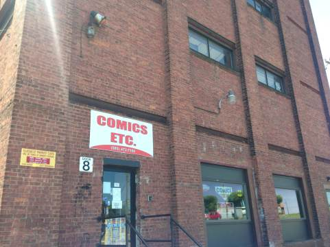 My favorite comic shop!