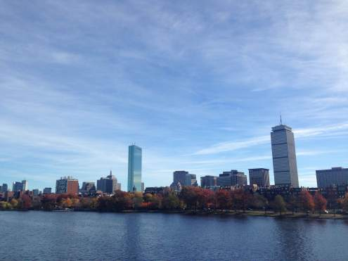 Boston on the river